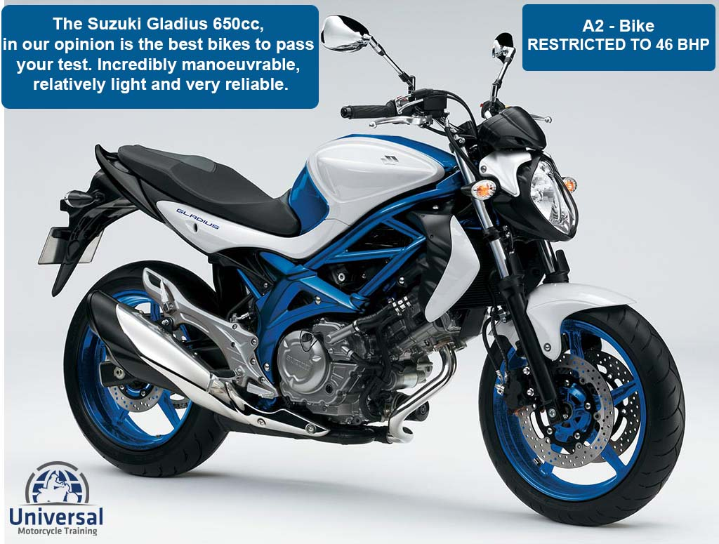 Hire Bike To See The Motorcycle That You Will Do Your Course And Test With
